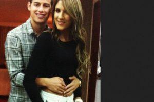 Con su esposo James. Foto:Vía instagram.com/daniela_ospina5. Imagen Por: