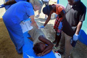 En 2010 Haití enfrentó un gran brote de cólera que dejó un saldo de más de ocho mil personas muertas. Foto:Getty Images. Imagen Por: