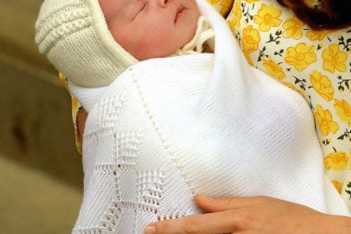 2. Su nombre completo es Charlotte Elizabeth Diana Foto:Getty Images. Imagen Por: