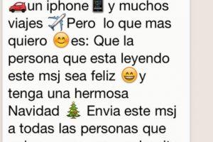 Mito: Si no reenvían este mensaje, sus amigos no tendrán una feliz navidad. Foto:Tumblr. Imagen Por: