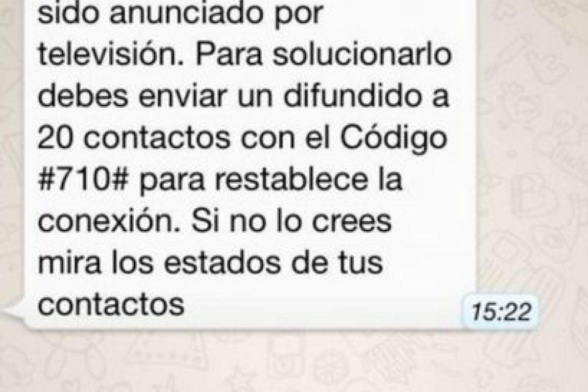 Mito: Si no comparten el mensaje, WhatsApp no mostrará los estados de sus contactos. Foto:Tumblr. Imagen Por: