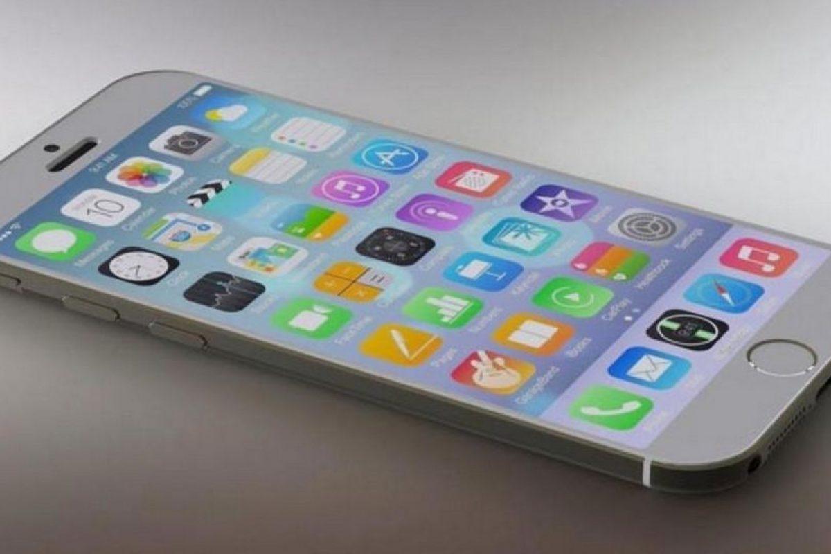 Así luciría el iPhone 6s. Foto:Tumblr. Imagen Por: