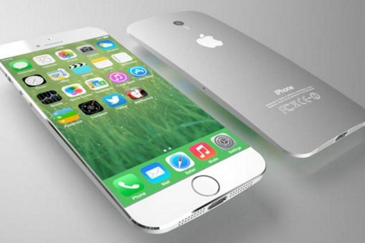 Así luciría el iPhone 6c con flexible. Foto:Tumblr. Imagen Por:
