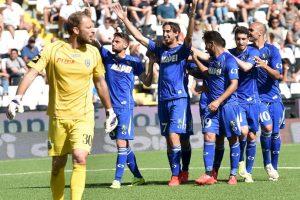Es el otro club que ha perdido la categoría en el máximo circuito de Italia Foto:Getty Images. Imagen Por: