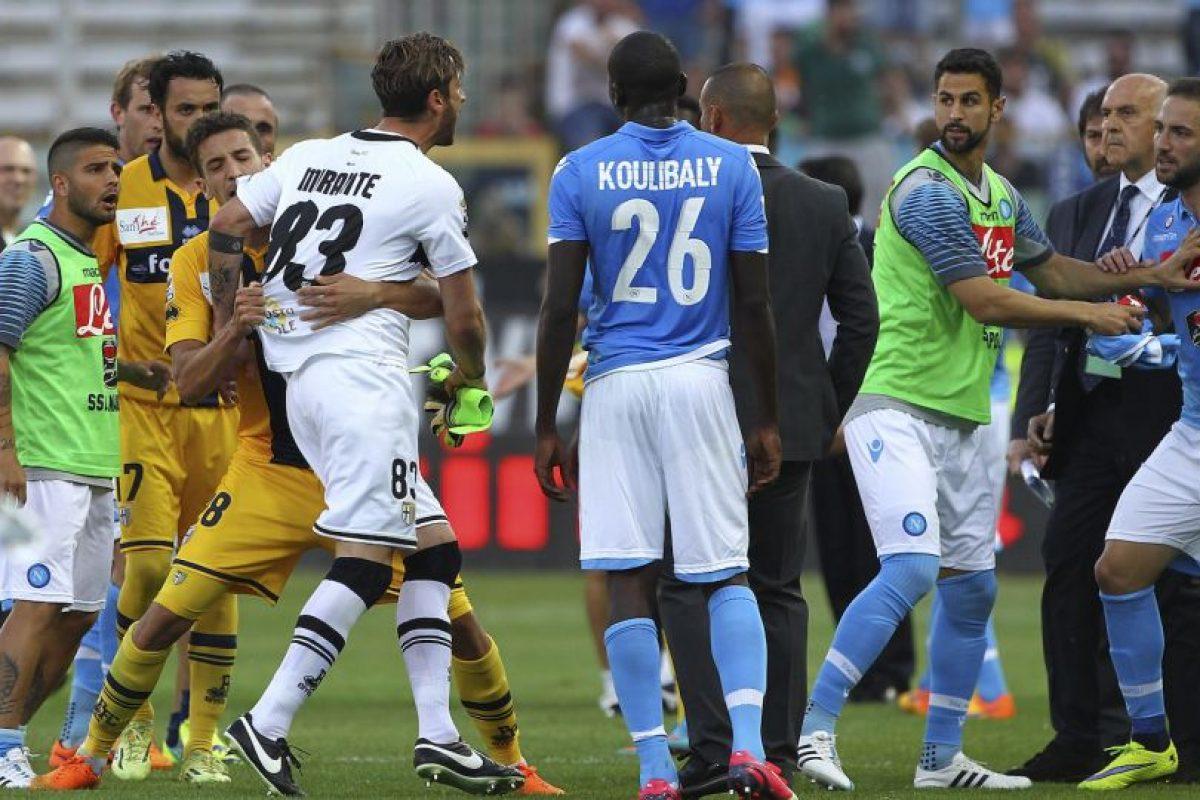 Son sotaneros de la Serie A con solo 17 unidades Foto:Getty Images. Imagen Por: