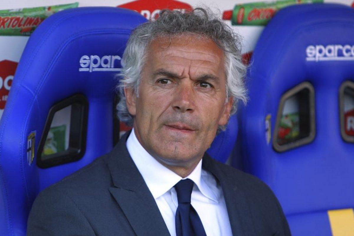 El rostro de Roberto Donadoni, DT del Parma, lo dice todo Foto:Getty Images. Imagen Por: