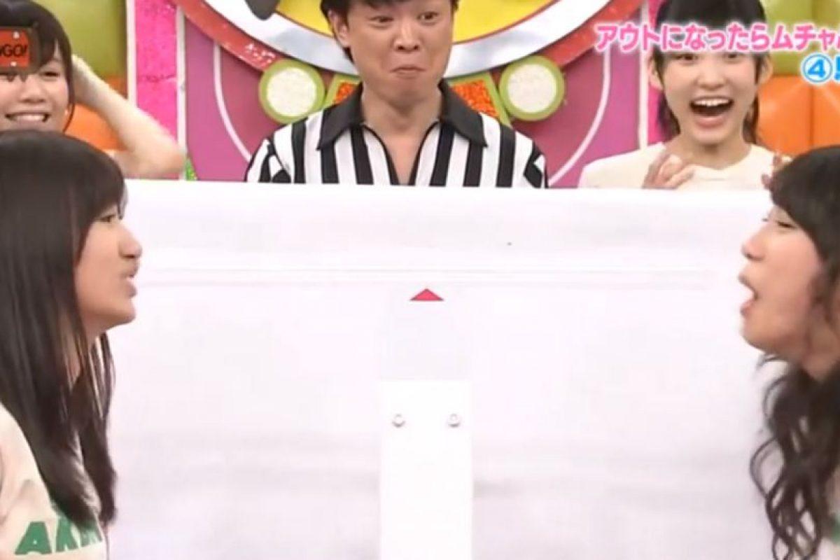 Es una lucha encarnizada. Foto:vía Youtube/Tv Nippon. Imagen Por: