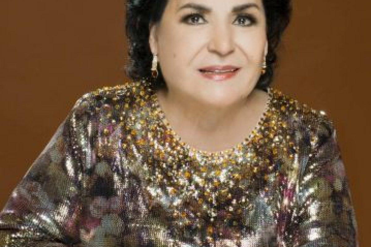 """También estuvo en """"María Mercedes"""", como """"Doña Filoginia"""". Foto:vía Facebook/Carmen Salinas Oficial. Imagen Por:"""