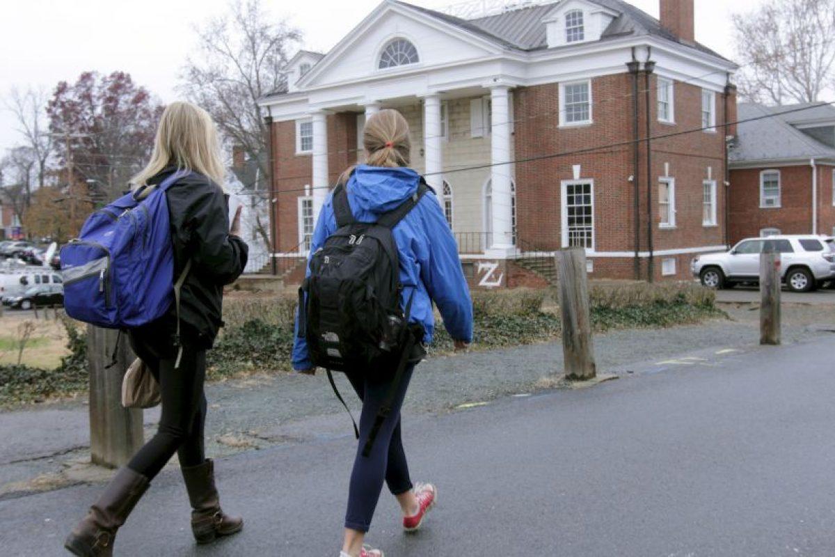 Quien afirmaba haber sido violada en una fiesta de una fraternidad en 2012. Foto:Getty Images. Imagen Por: