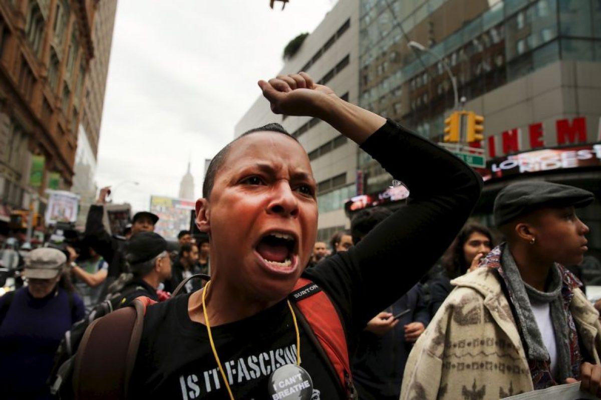 El incidente es el último de una serie de muertes muy publicitadas que implican agentes de policía. Foto:Getty Images. Imagen Por: