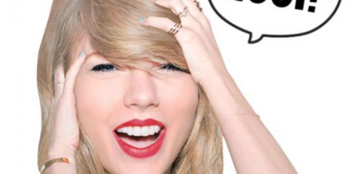 Taylor Swift lanza sus stickers con LINE