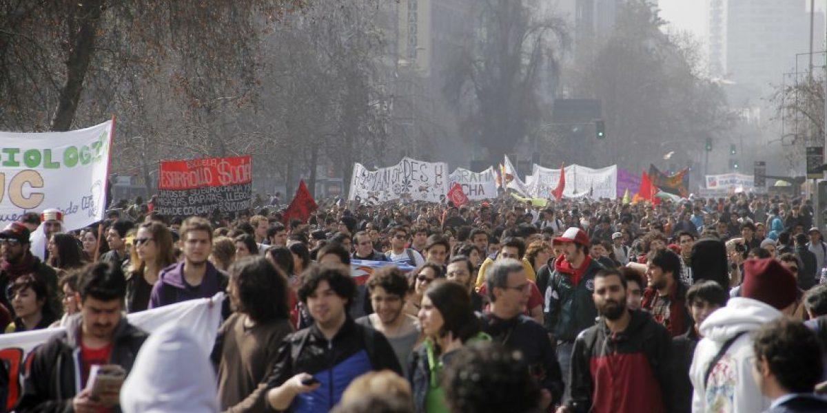 Autorizan marcha convocada por la Confech y profesores
