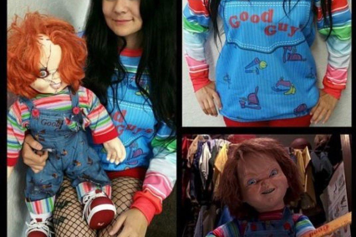 "Esta sudadera inspirada en ""Chucky"" Foto:vía instagram.com/belovedshirts. Imagen Por:"