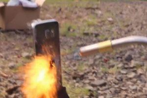 Así quemaron al Galaxy S6. Foto:EverythingApplePro. Imagen Por: