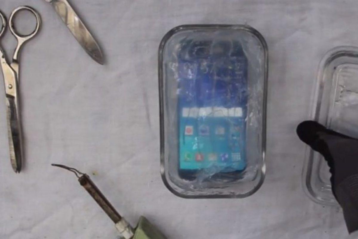 Esta es la peor forma de hacer resistente al agua al Samsung Galaxy S6. Foto:PeripateticPandas. Imagen Por:
