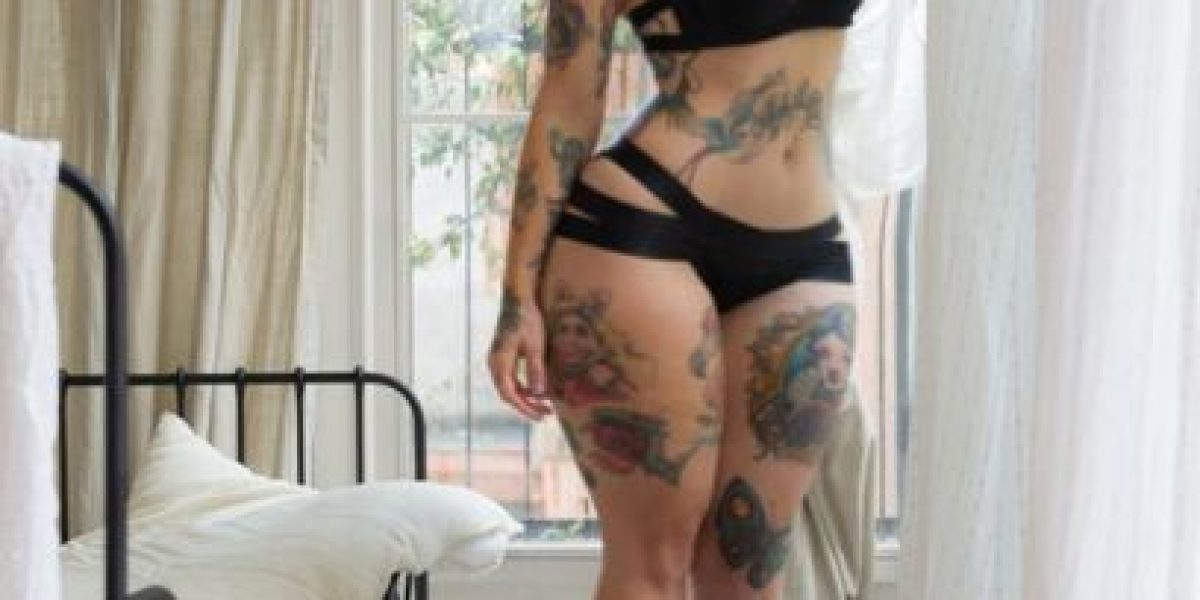 gorda tattooed