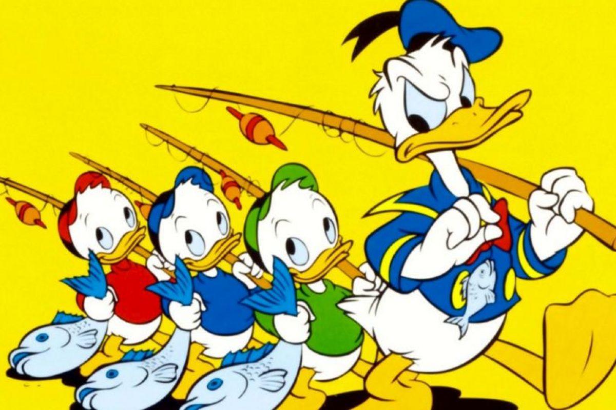 Todos iguales, como en el caso de los trillizos. Hugo, Paco y Luis son un buen ejemplo. Foto:vía Disney. Imagen Por: