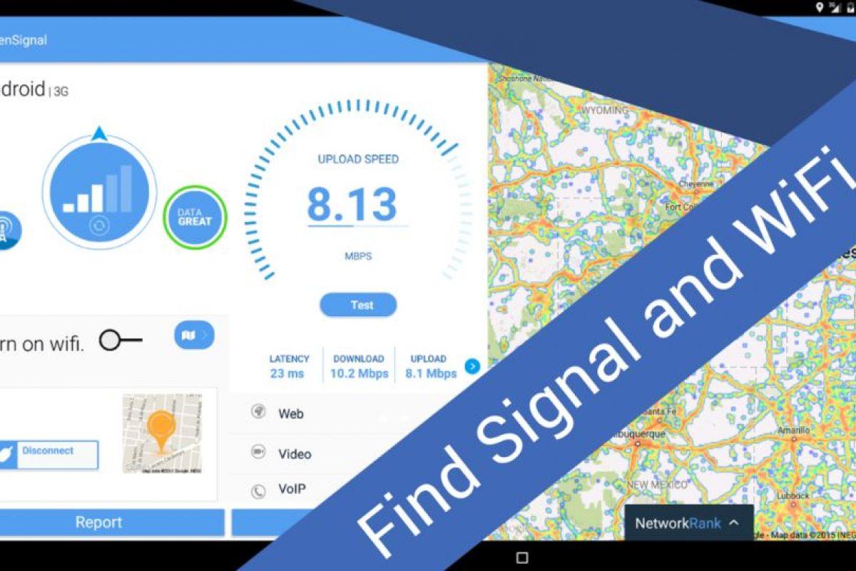 Para Android Foto:OpenSignal, Inc. Imagen Por: