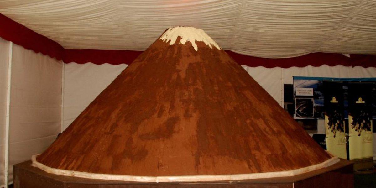 Atentos: festival tendrá el volcán de chocolate más grande de Chile