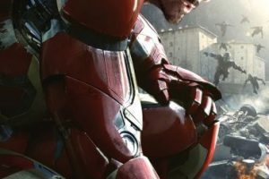 "Robert Downey Jr. interpreta ""Iron Man"" Foto:vía facebook.com/avengers. Imagen Por:"