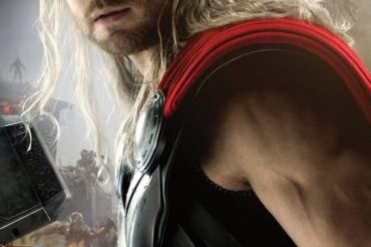 """Chris Hemsworth intepreta a """"Thor"""" Foto:vía facebook.com/avengers. Imagen Por:"""