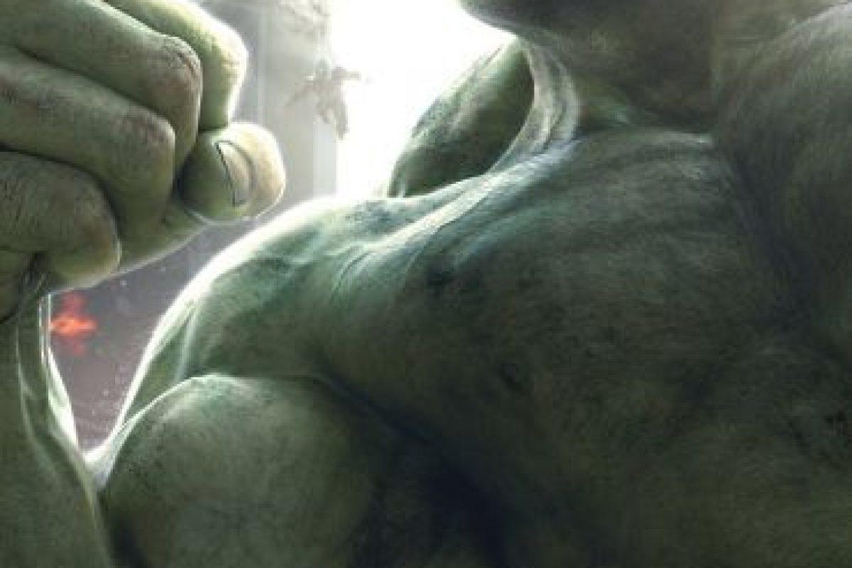 """Y """"Bruce Jenner"""" se transforma en """"Hulk"""" Foto:vía facebook.com/avengers. Imagen Por:"""