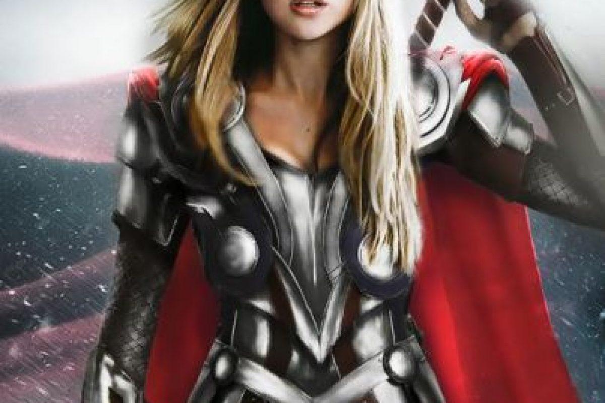"Jennifer Lawrence sería ""Thor"" Foto:vía disimilis.tumblr.com. Imagen Por:"