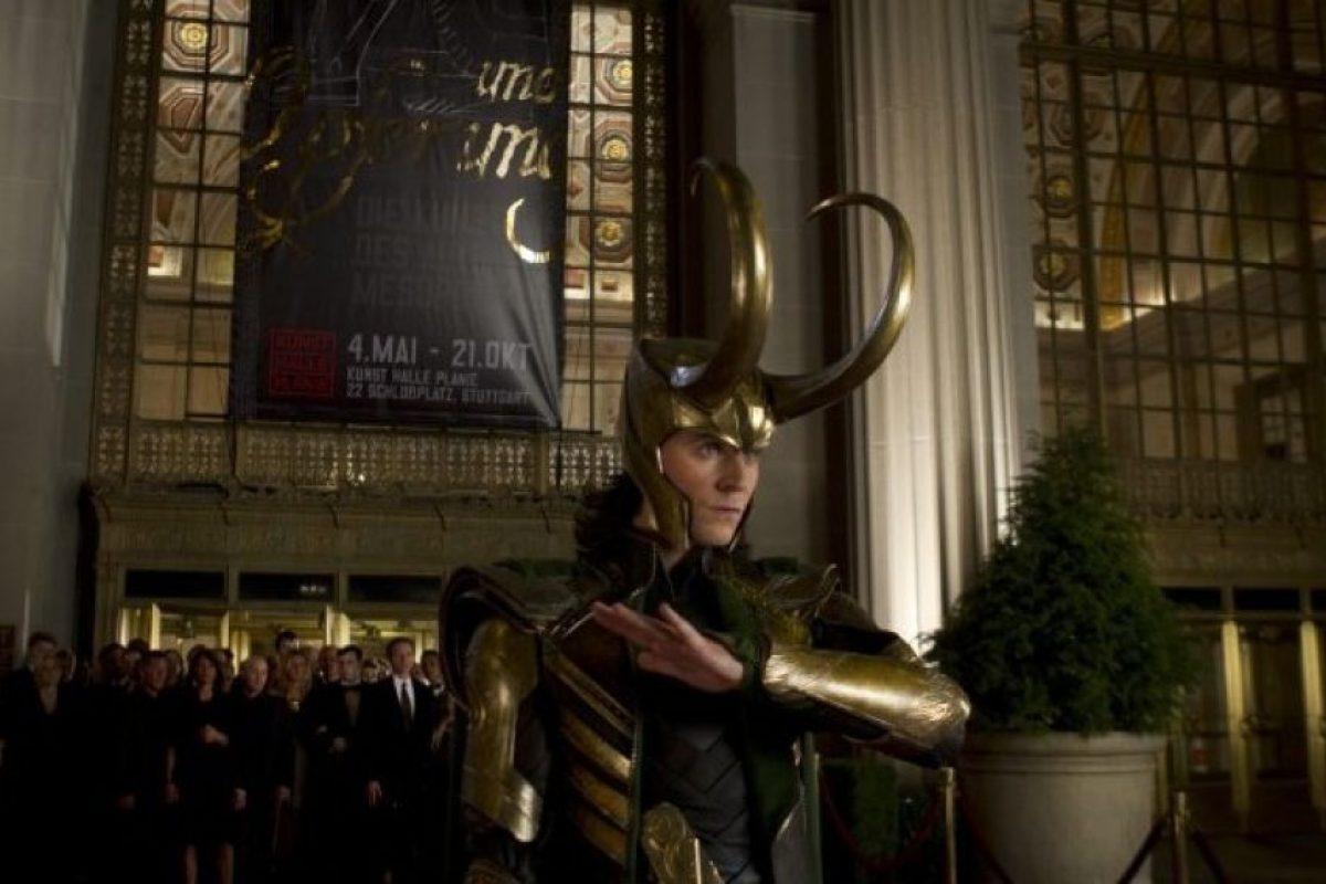 """Tom Hiddleston interpreta a """"Loki"""" Foto:IMDB. Imagen Por:"""