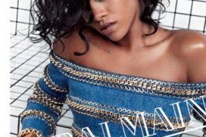 Rihanna fue la imagen de Balmain para su campaña primavera-verano en 2014 Foto:Balmain. Imagen Por: