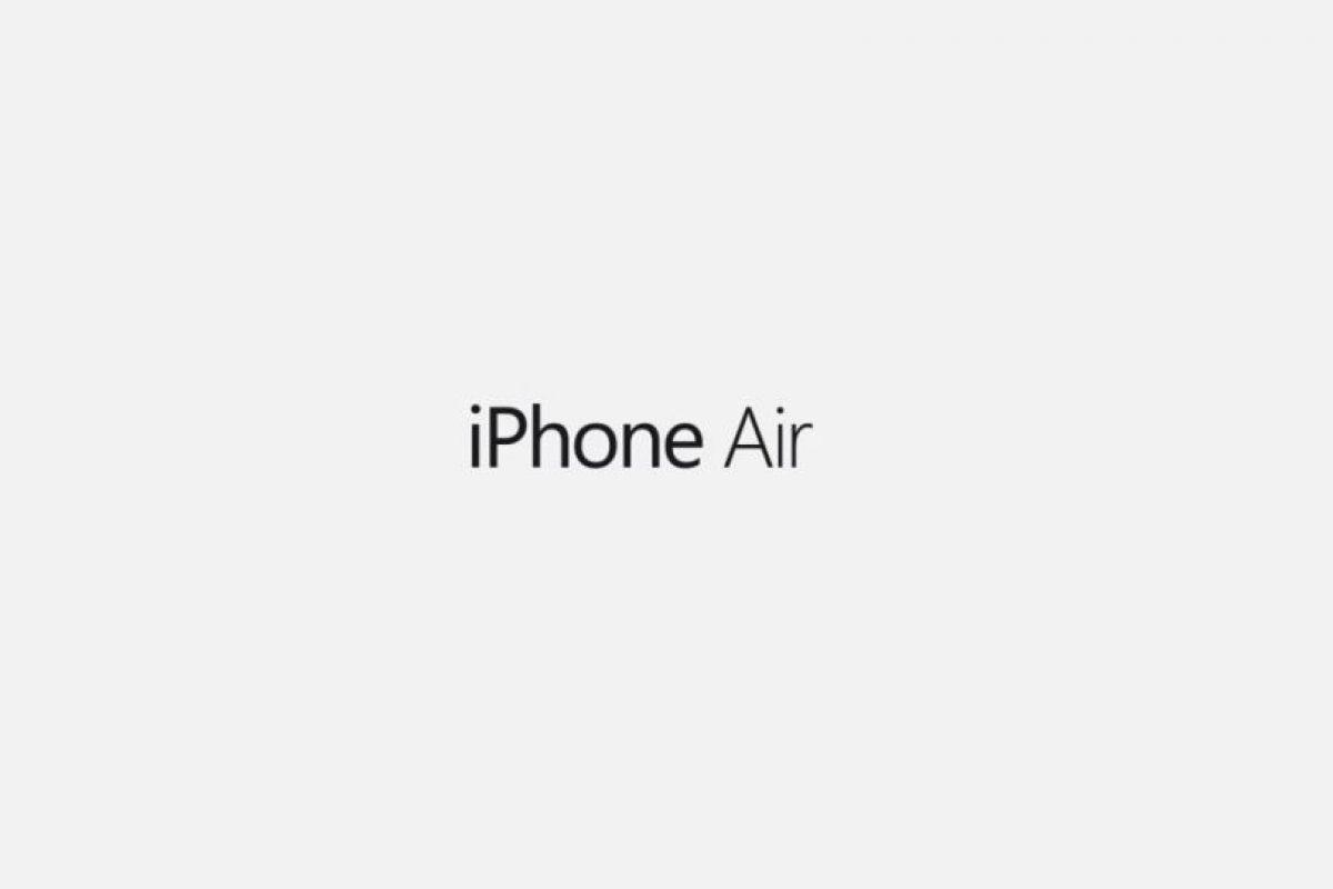 iPhone Air. Foto:SET Solution. Imagen Por: