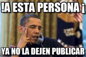 Barack Obama, presidente de Estados Unidos Foto:Generadordememes.com. Imagen Por: