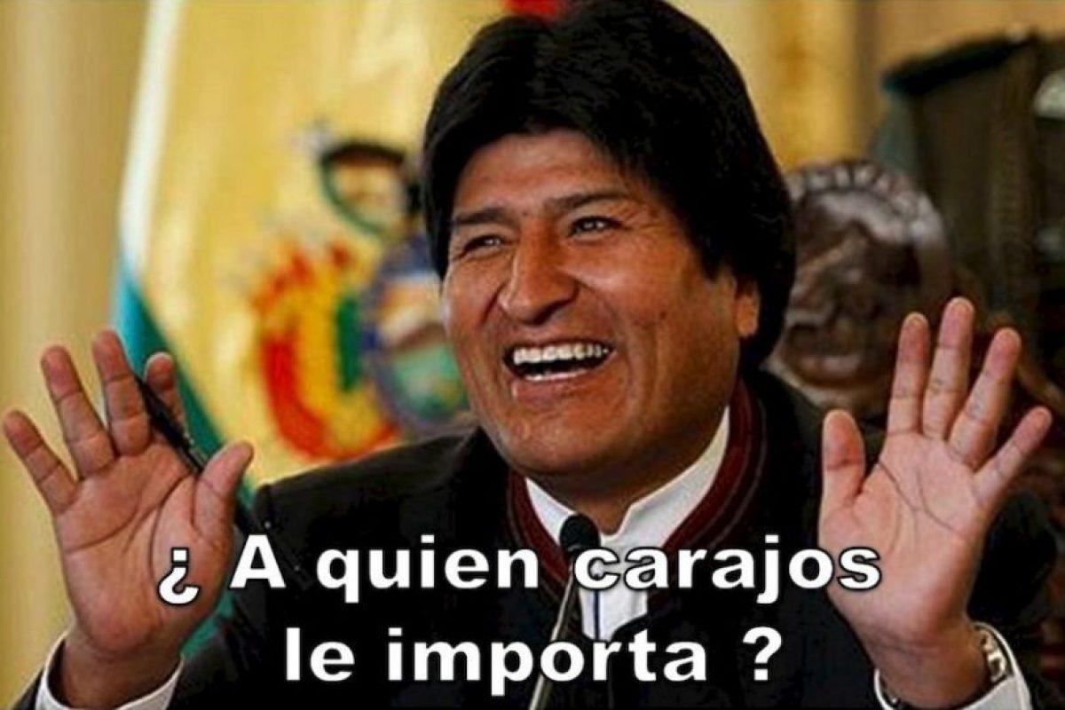 Evo Morales, presidente de Bolivia Foto:Twitter – Archivo. Imagen Por: