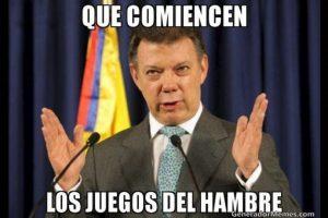 Juan Manuel Santos, presidente de Colombia Foto:Twitter – Archivo. Imagen Por:
