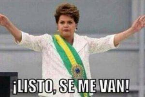 Dilma Rousseff, presidenta de Brasil Foto:Twitter – Archivo. Imagen Por:
