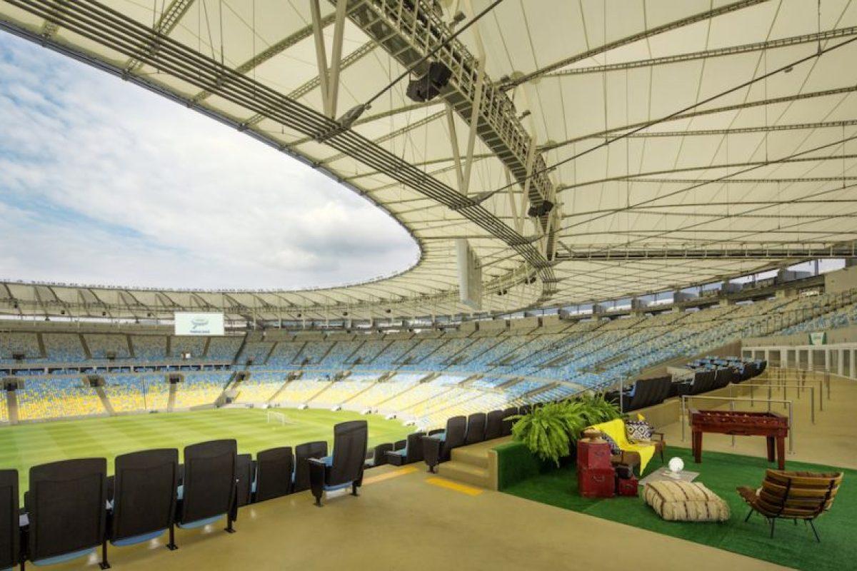 Hospedarse en el Maracaná es el sueño de muchos aficionados al fútbol. Foto:Airbnb. Imagen Por: