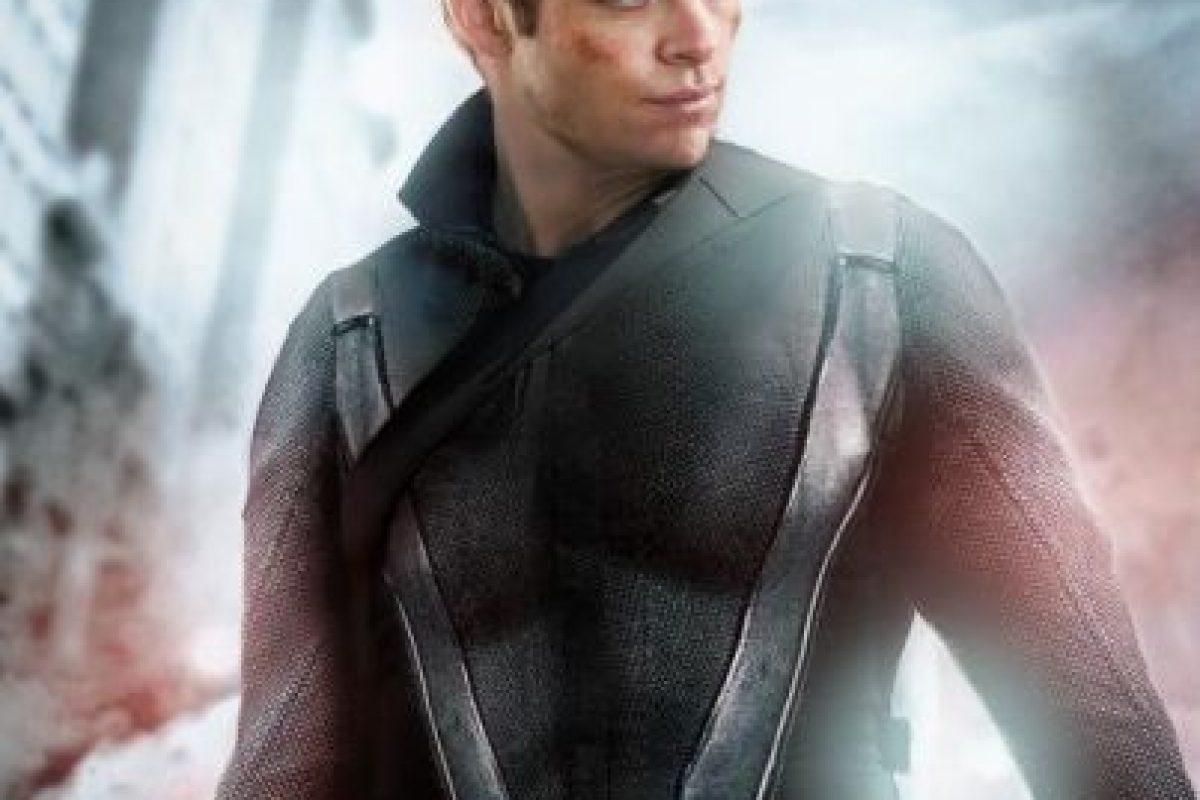 """Chris Pine sería """"Black Widow"""" Foto:vía disimilis.tumblr.com. Imagen Por:"""