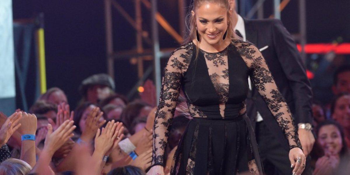 Ricky Martin y Jennifer López encendieron el escenario de