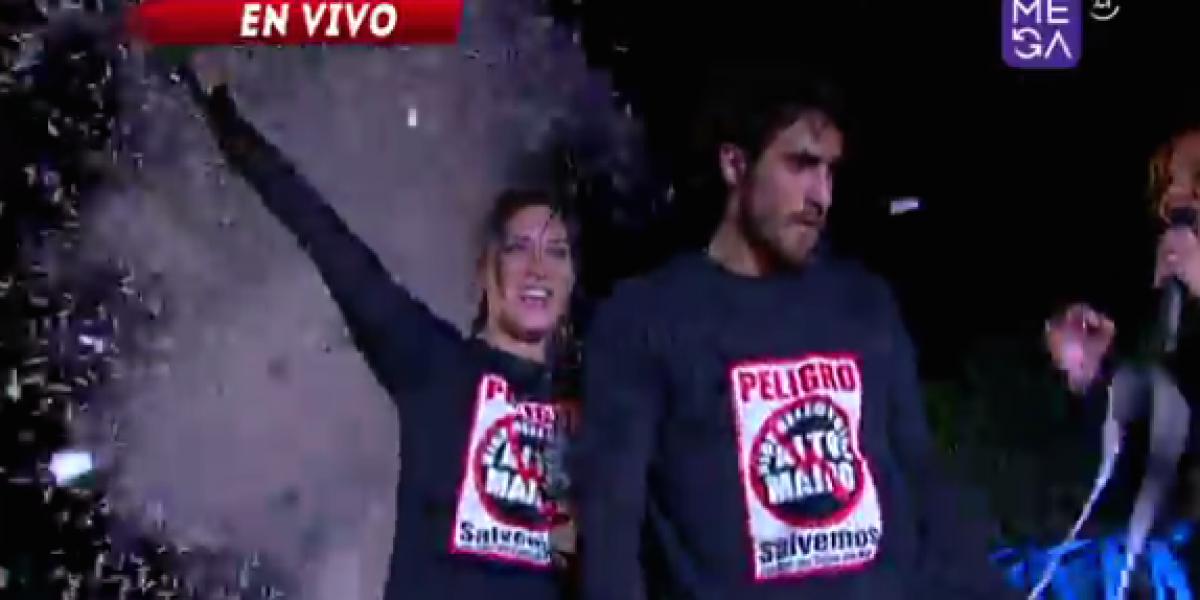 Pedro y Romina ganaron