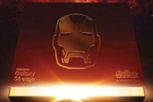 """Esta es la primera imagen del Galaxy S6 de """"Iron Man"""" Foto:Samsung. Imagen Por:"""