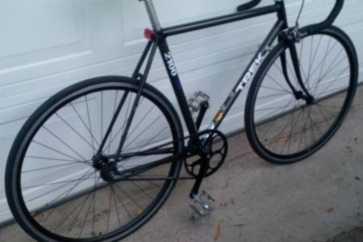 Una bicicleta de piñón fijo marca Trek. Foto:vía Craiglist. Imagen Por:
