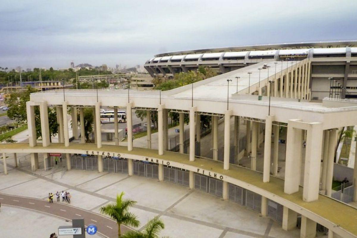 Esta es la entrada principal del Estadio Maracaná. Foto:Airbnb. Imagen Por: