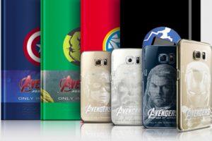 """Así es como los fanáticos imaginan los diseños especiales del Samsung Galaxy S6 de """"Los Vengadores"""" Foto:Twitter. Imagen Por:"""