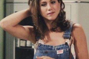 """Peinado """"Rachel"""" y overol desgastado. Foto:vía NBC. Imagen Por:"""