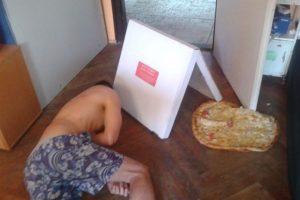 El que estaba tan borracho que tiró su pizza. Foto:vía Imgur. Imagen Por:
