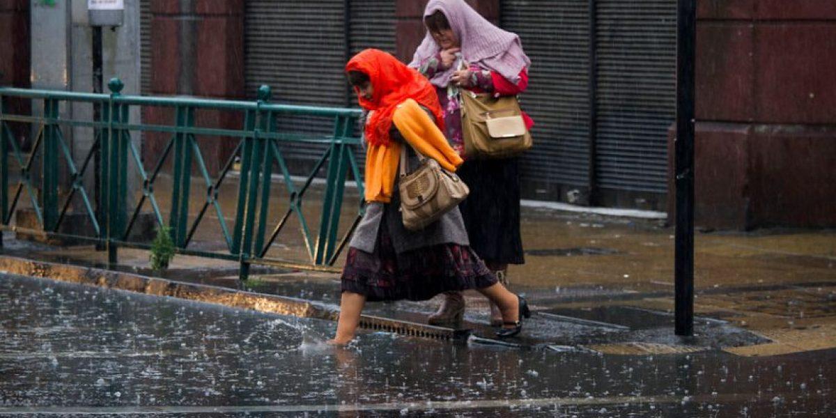 ¡Atención sureños! Onemi llama a la prevención por marejadas y lluvias