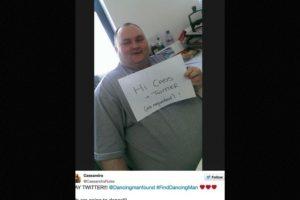 Una tuitera, conmovida por su acción, decidió buscarlo. Foto:Twitter. Imagen Por: