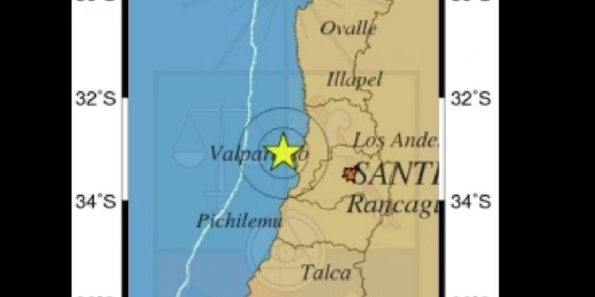 Sismo de menor intensidad se sintió desde Santiago hasta Navidad