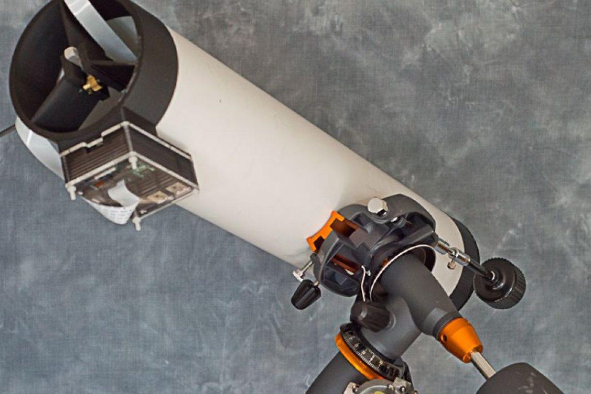 Pikon es un telescopio que puede imprimirse por 157 dólares. Es obra de investigadores de la Universidad de Sheffield, en Reino Unido Foto:Pikon. Imagen Por: