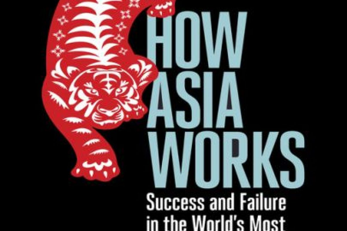 """How Asia Works"", de Joe Studwell Foto: Amazon.com. Imagen Por:"