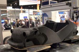 Autos. El primer auto eléctrico impreso en 3D fue creado en 44 horas por Local Motors en Arizona, Estados Unidos Foto:Local Motors. Imagen Por: